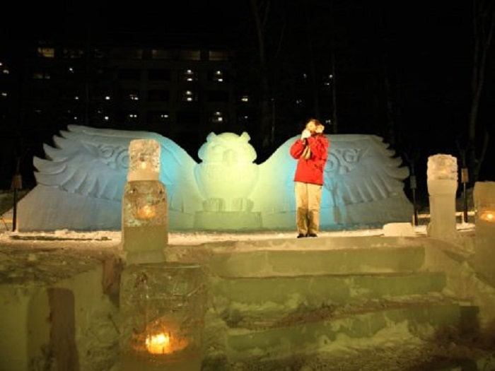 阿寒湖氷上フェスティバル 冬華美