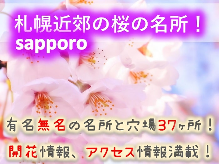 札幌近郊の桜の名所